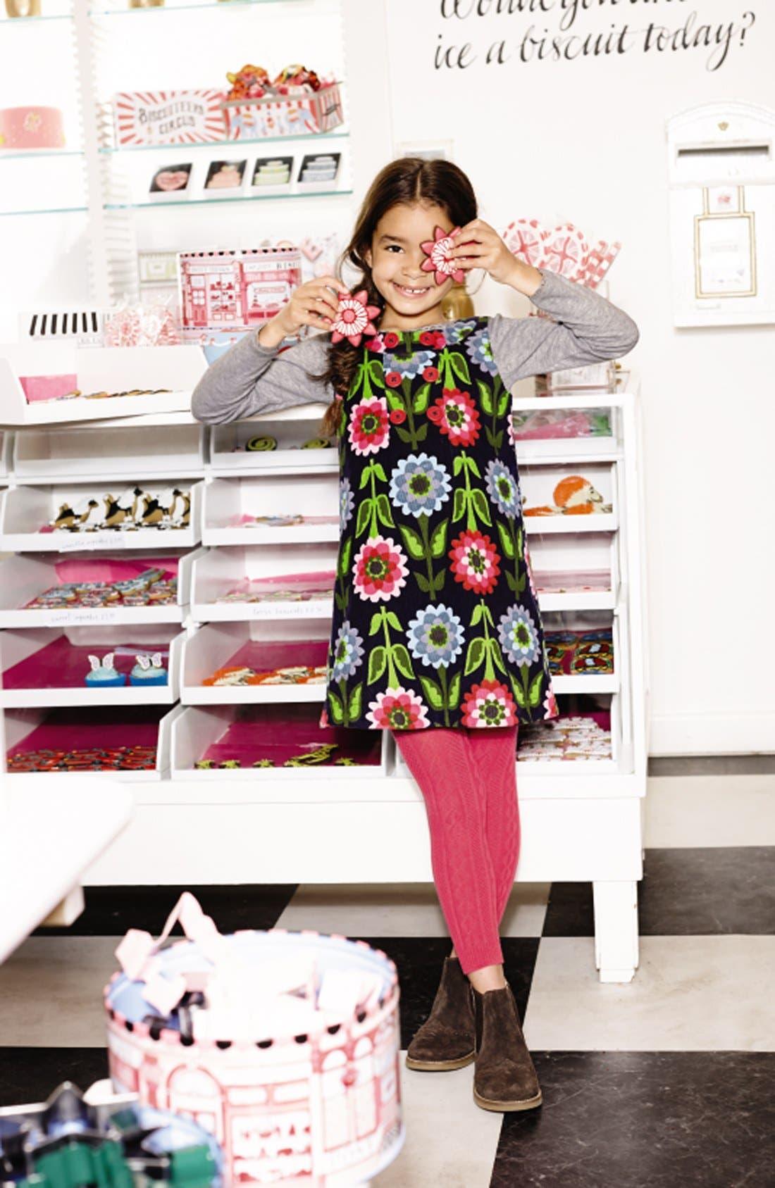 Alternate Image 2  - Mini Boden Corduroy Pinafore Dress (Toddler Girls, Little Girls & Big Girls)