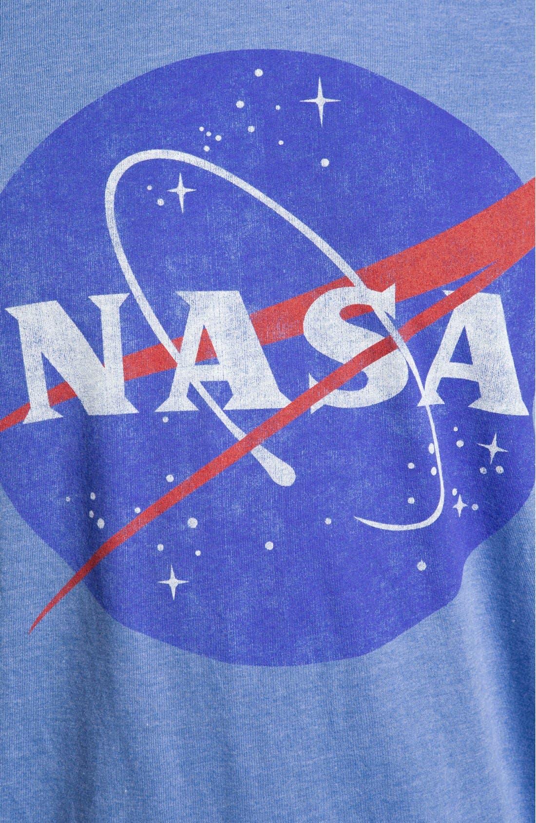 Alternate Image 3  - Topless 'NASA Logo' Graphic T-Shirt
