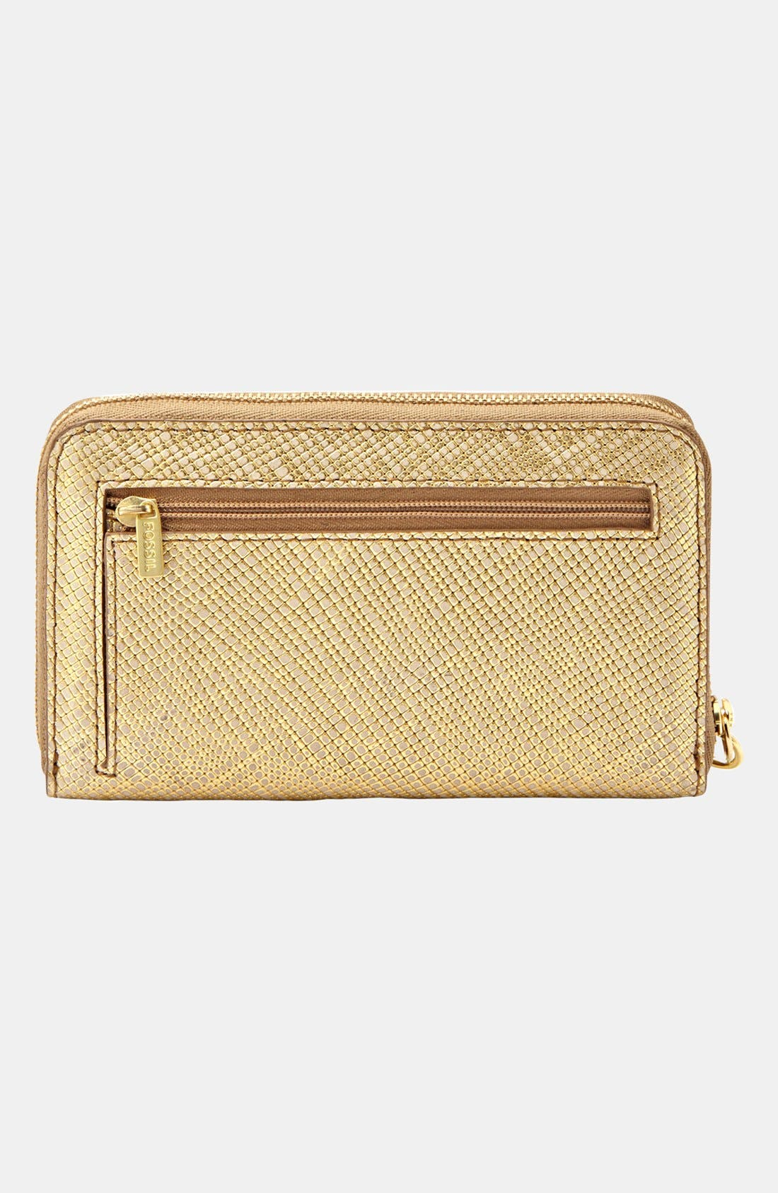 Alternate Image 3  - Fossil 'Sydney' Zip Phone Wallet