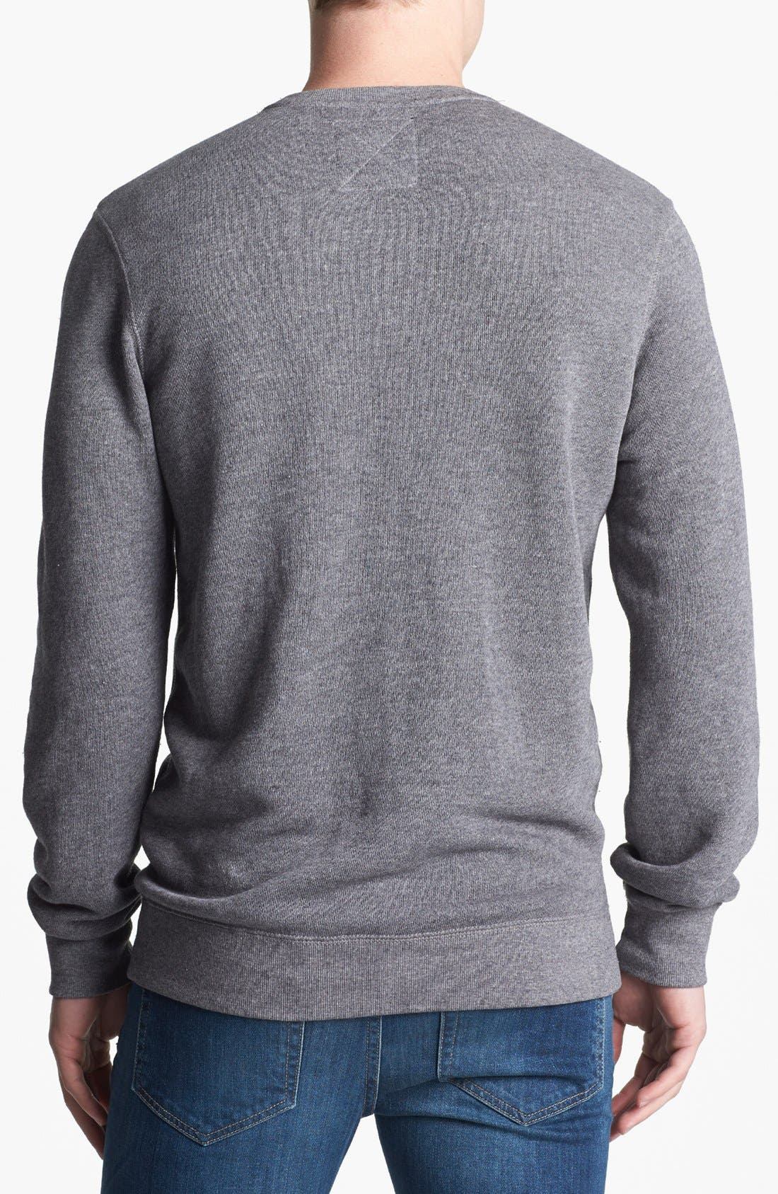 Alternate Image 2  - Vans 'Garnet' Crewneck Sweatshirt