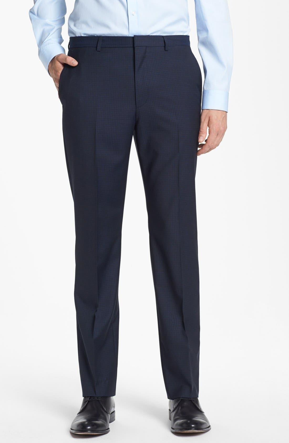 Alternate Image 5  - HUGO 'Astro/Hill' Extra Trim Fit Check Suit
