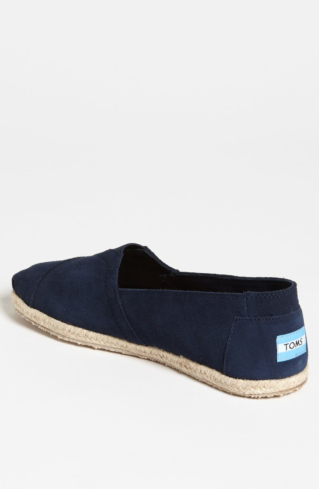 Alternate Image 2  - TOMS 'Classic' Suede Slip-On   (Men)