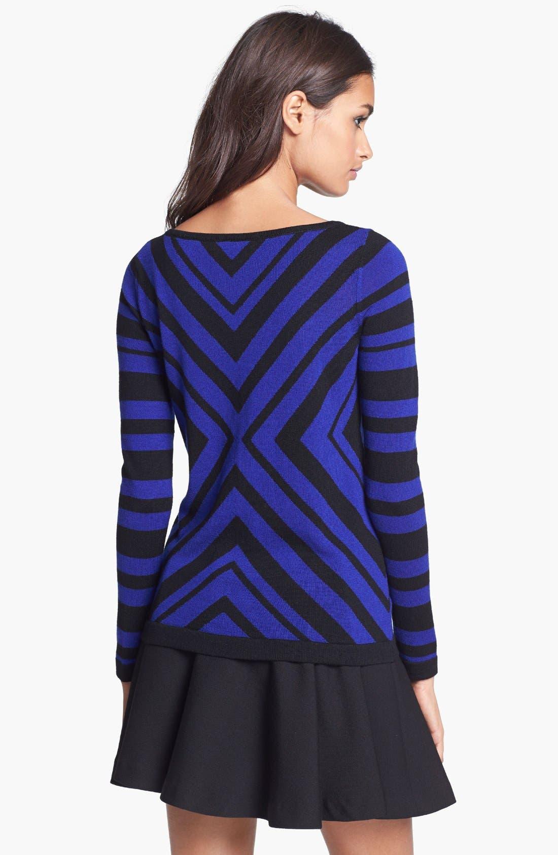 Alternate Image 2  - Milly Merino Wool Sweater