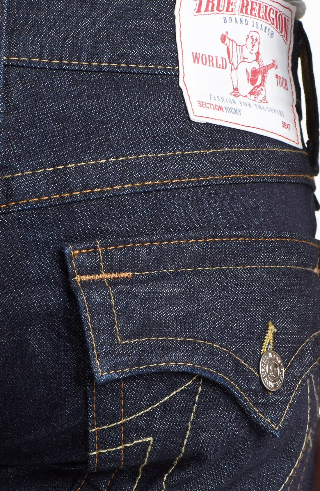 Alternate Image 4  - True Religion Brand Jeans 'Ricky' Relaxed Fit Jeans (Inglorious)