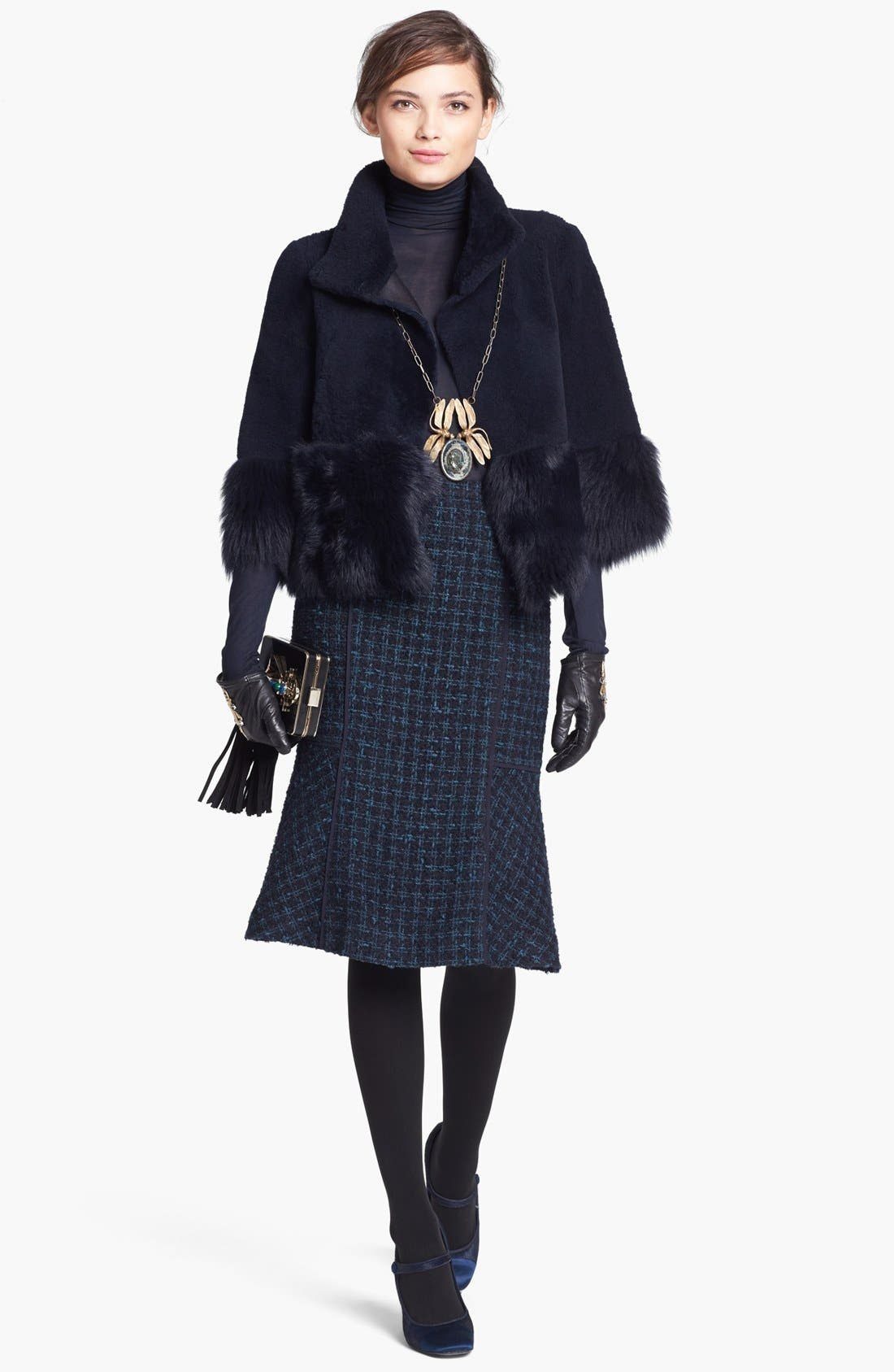 Alternate Image 4  - Tory Burch 'Sloane' Tweed Skirt