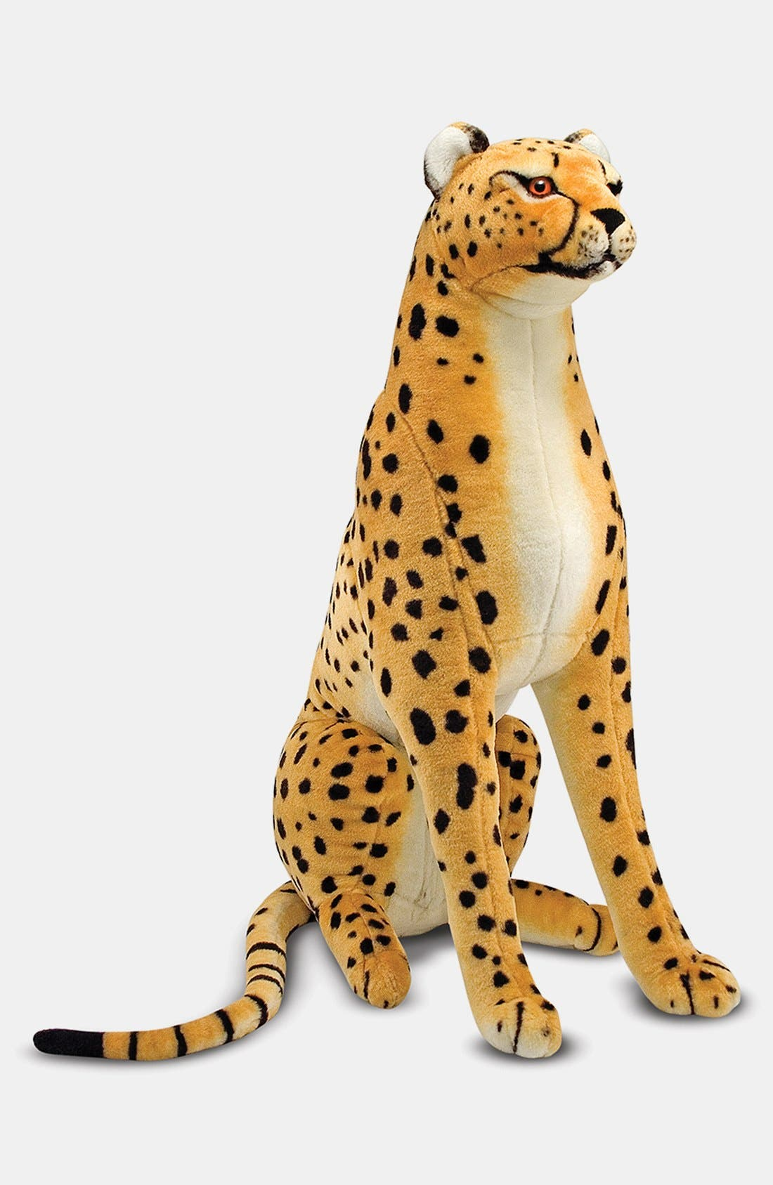 Plush Cheetah Stuffed Animal,                             Alternate thumbnail 2, color,                             Tan Multi