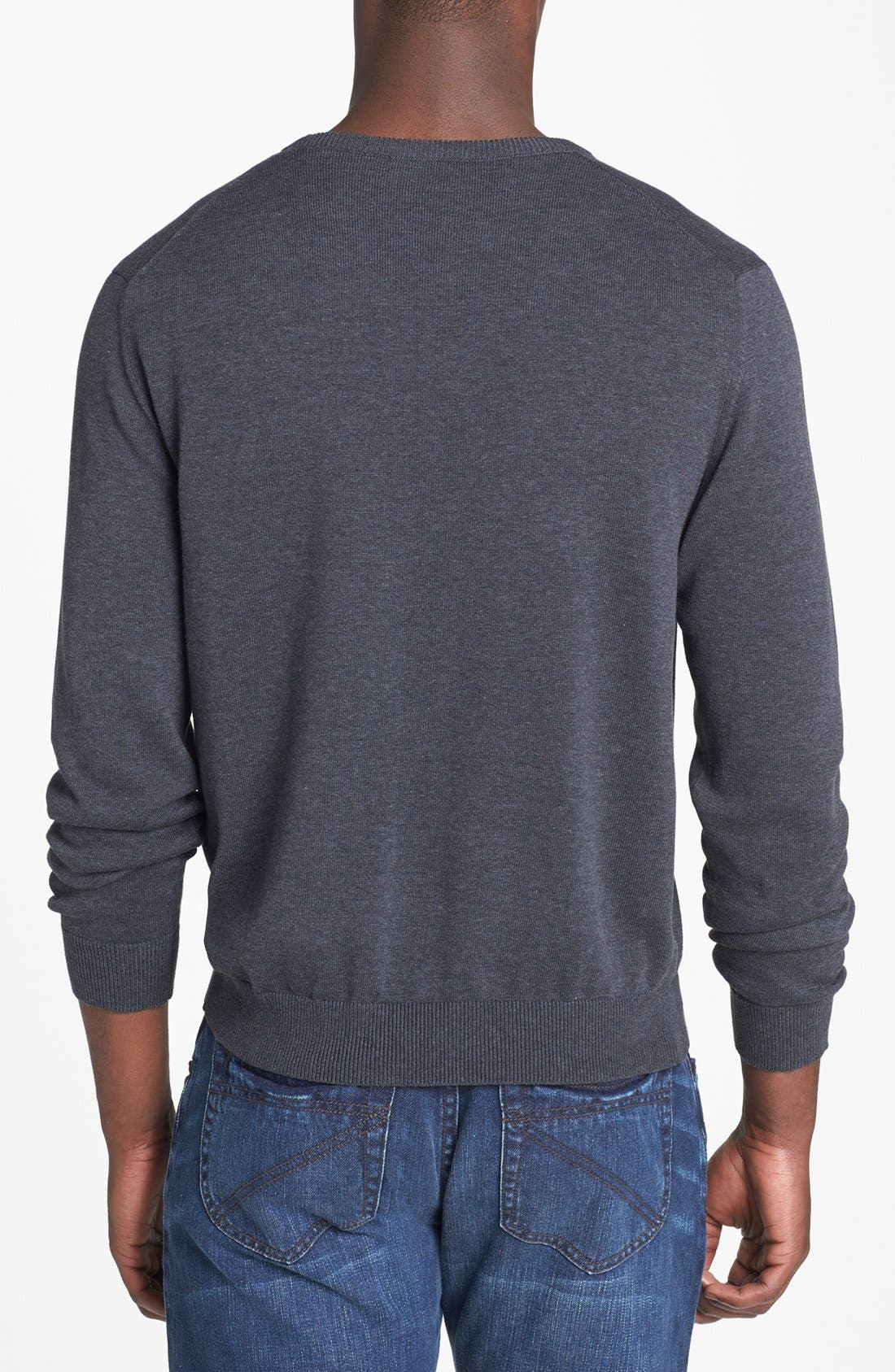Alternate Image 2  - Zegna Sport Water Repellent Crew Neck Sweater