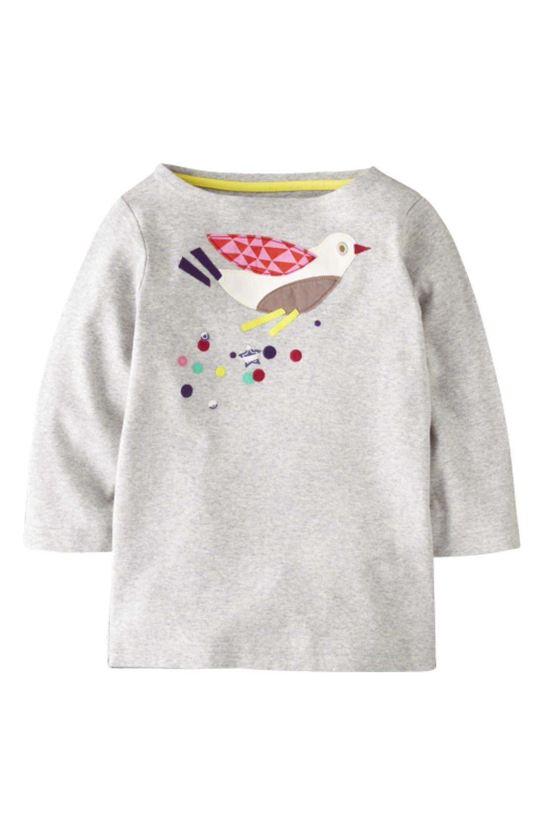 Main Image - Mini Boden 'Kaleidoscope Appliqué' Tee (Little Girls & Big Girls)