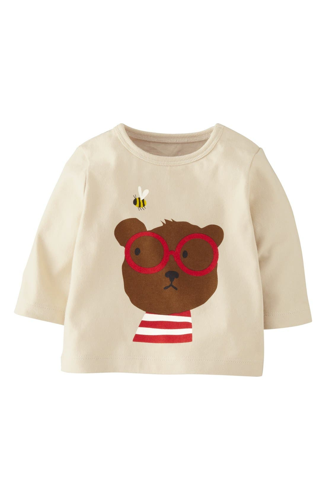 Main Image - Mini Boden Screenprint T-Shirt (Baby Boys)