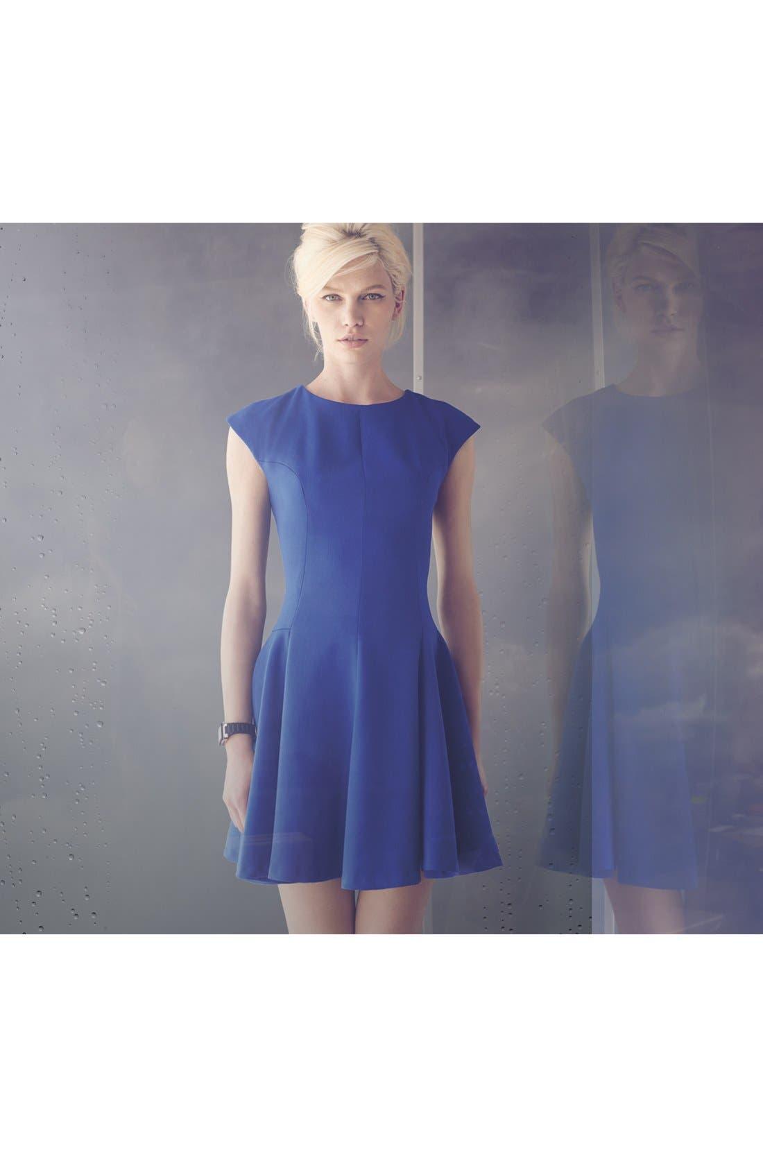 Alternate Image 1 Selected - Eliza J Skater Dress & Accessories