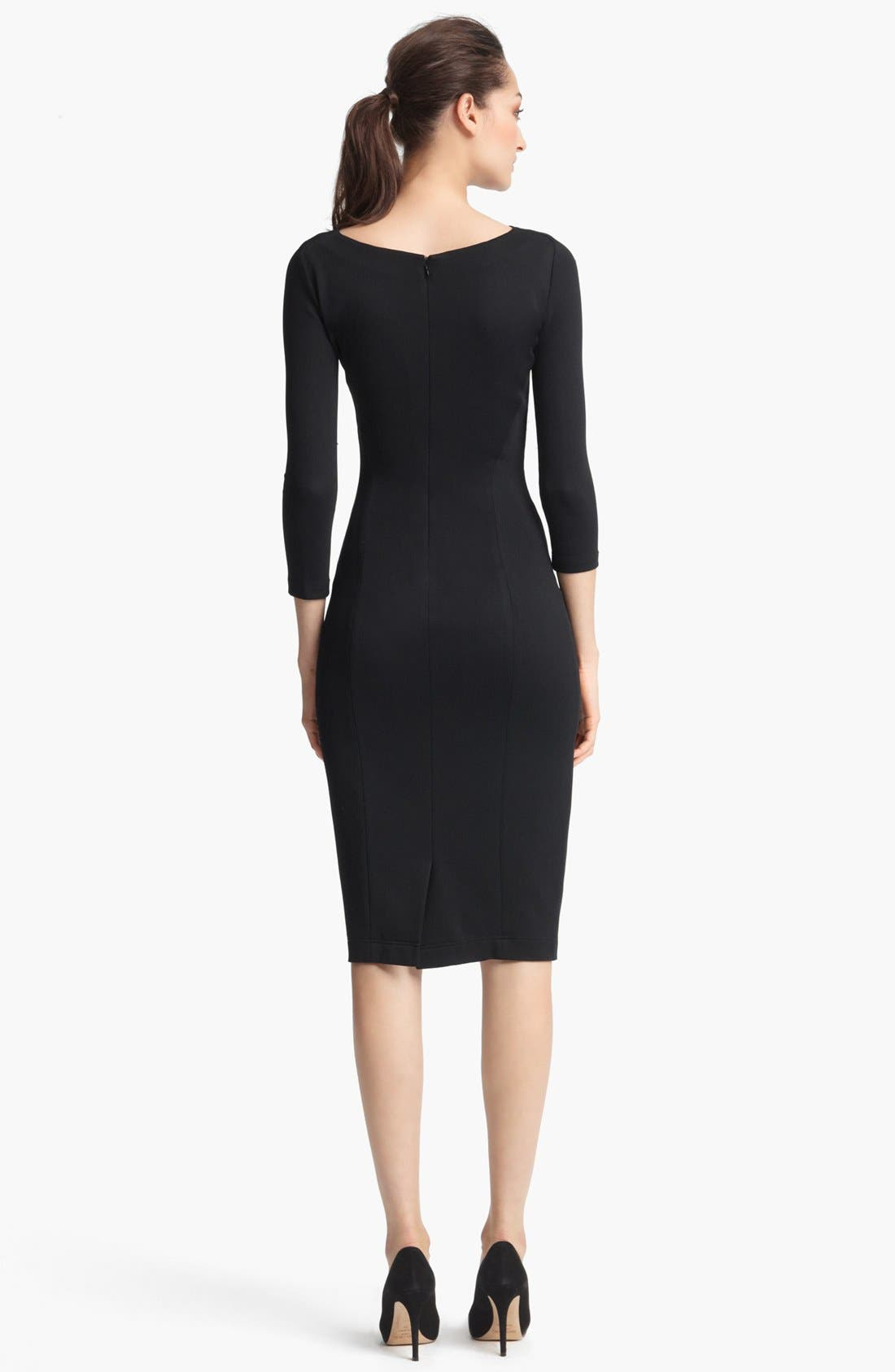 Alternate Image 2  - Donna Karan Collection Crepe Jersey Dress