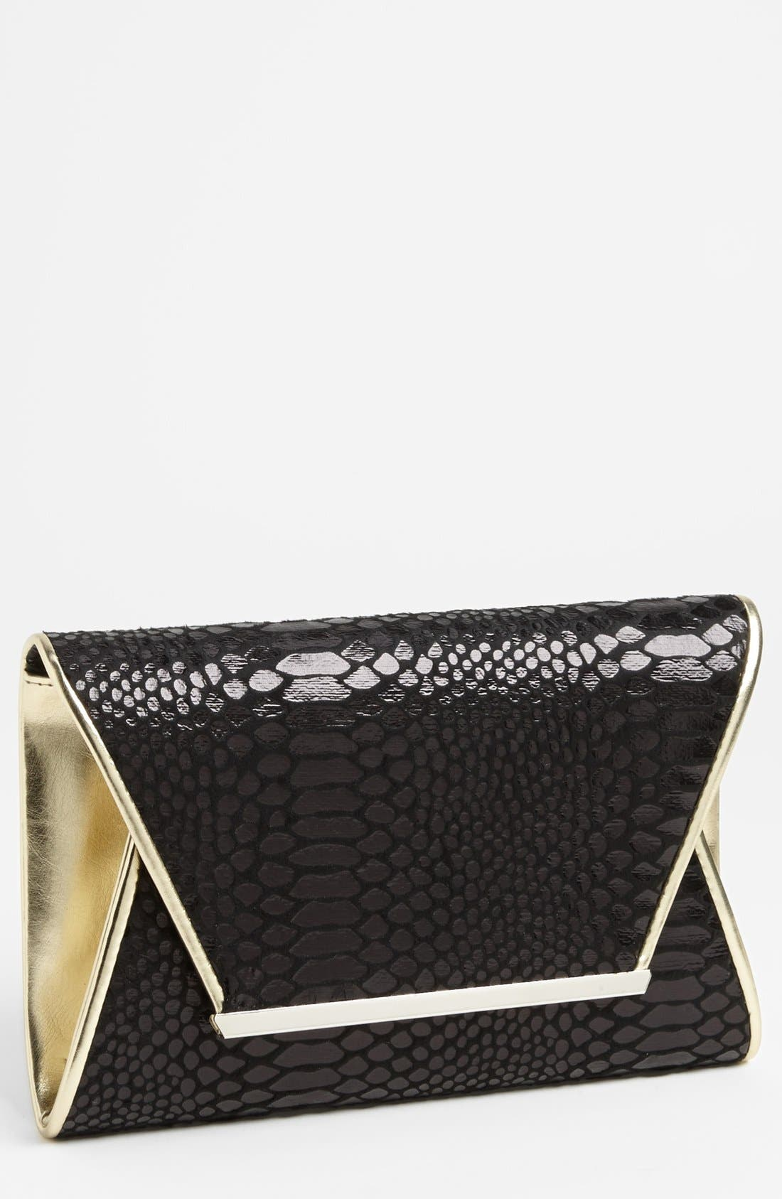 Alternate Image 1 Selected - Magid Faux Leather Clutch