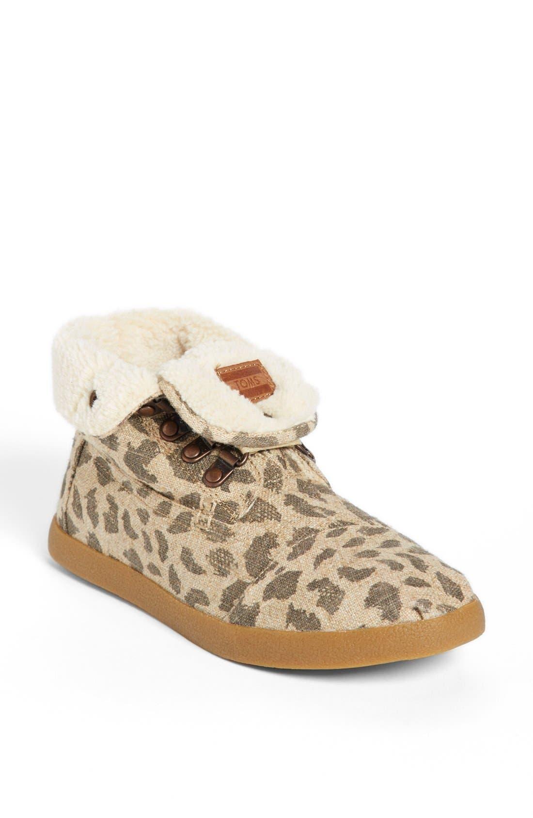 Main Image - TOMS 'High Botas' Fleece Boot
