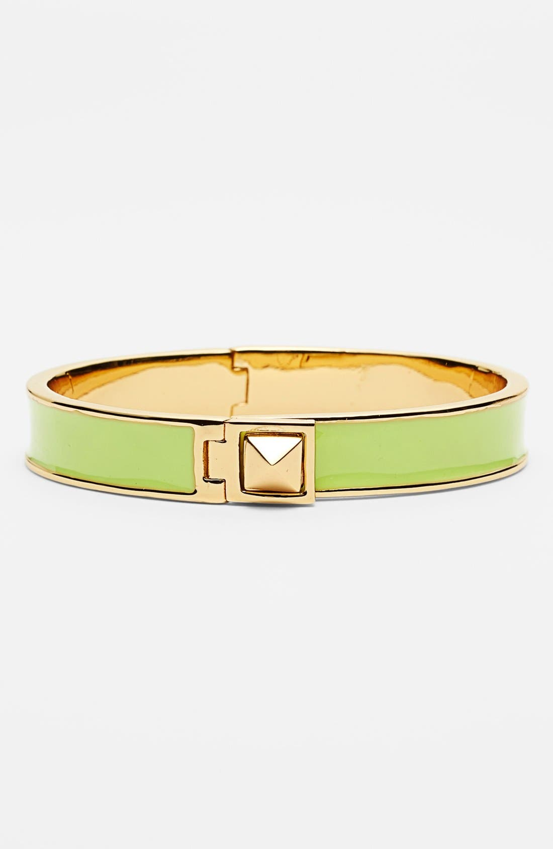 Main Image - kate spade new york 'locked in' mini pyramid bangle