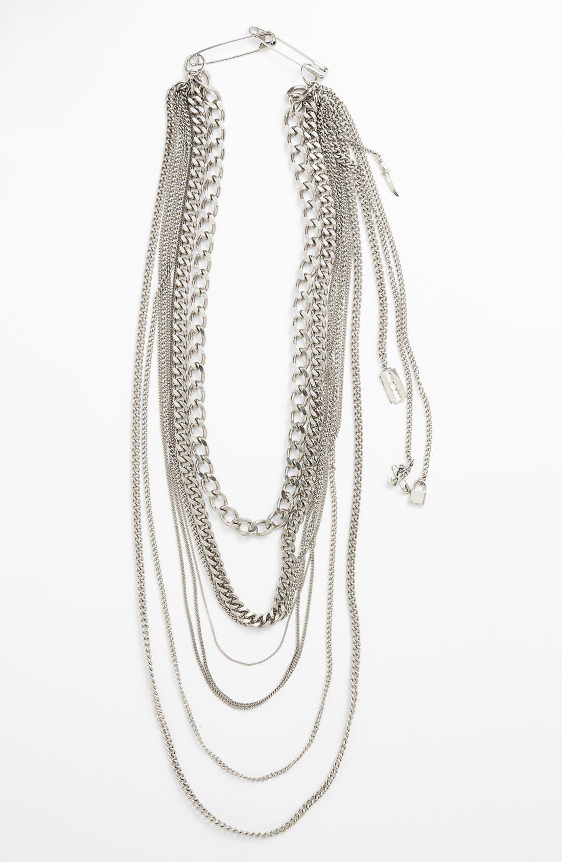 Alternate Image 2  - Tom Binns 'Charm Offensive' Multistrand Chain Necklace