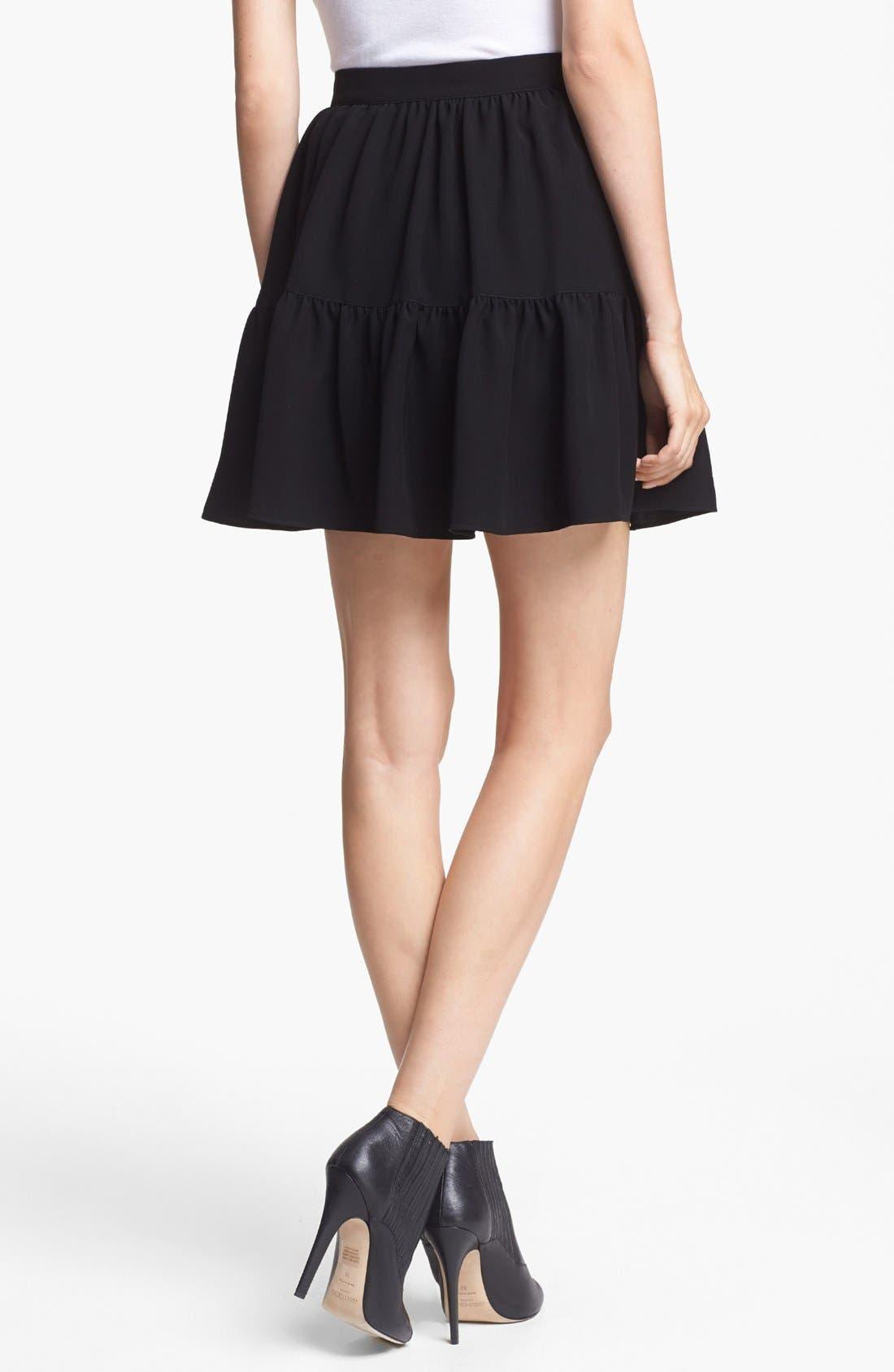 Alternate Image 2  - KENZO Twill Ruffle Skirt