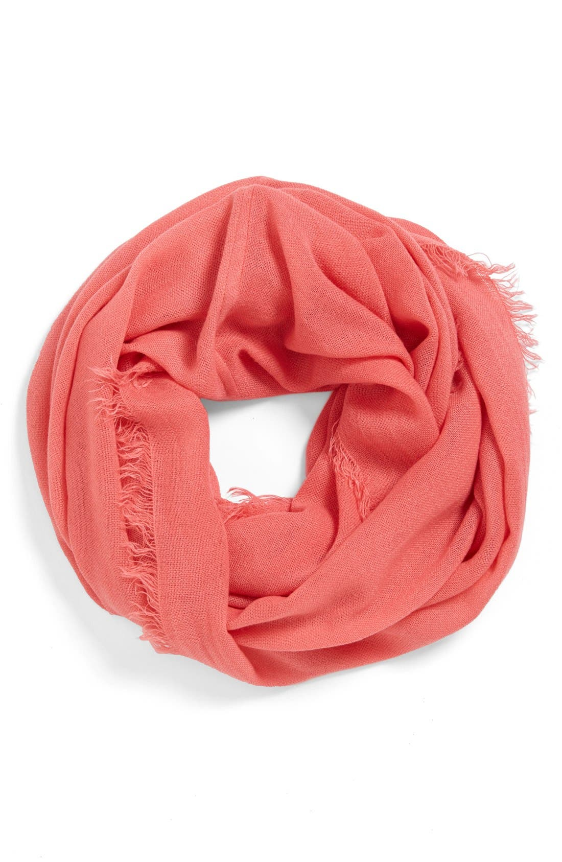 Main Image - BP. Fringe Infinity Scarf (Juniors) (Online Only)