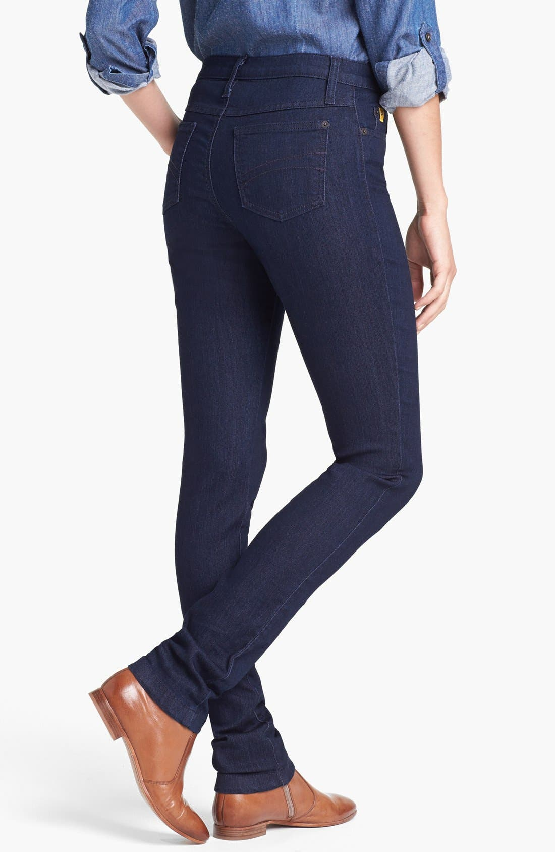 Alternate Image 2  - Yoga Jeans by Second Denim Skinny Jeans