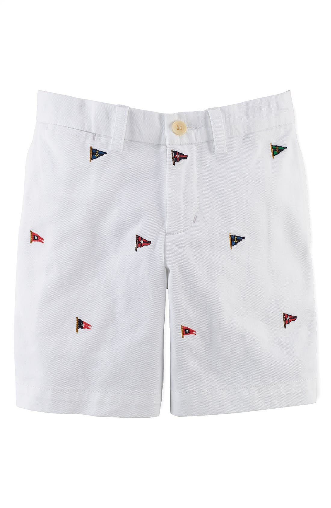 Alternate Image 1 Selected - Ralph Lauren Chino Shorts (Toddler Boys)
