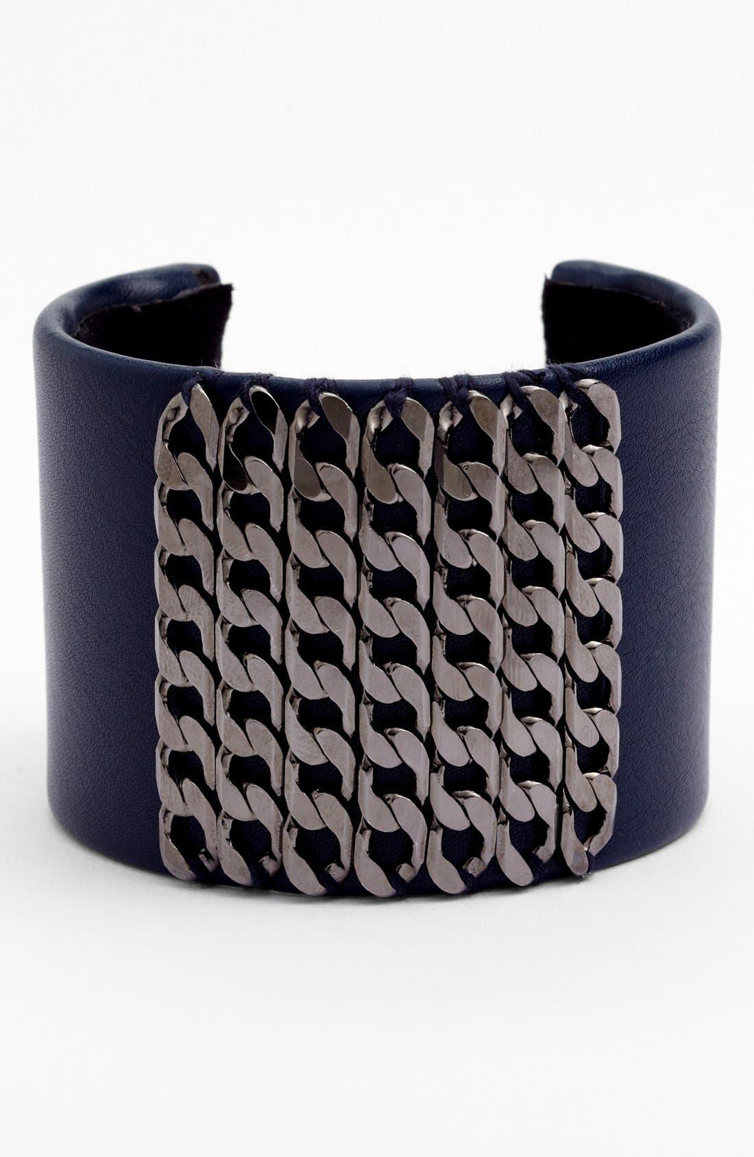 Alternate Image 1 Selected - Natasha Couture Chain Link Cuff