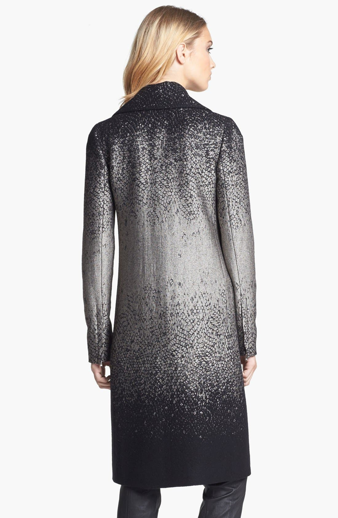 Alternate Image 3  - Diane von Furstenberg 'Nala' Woven Coat