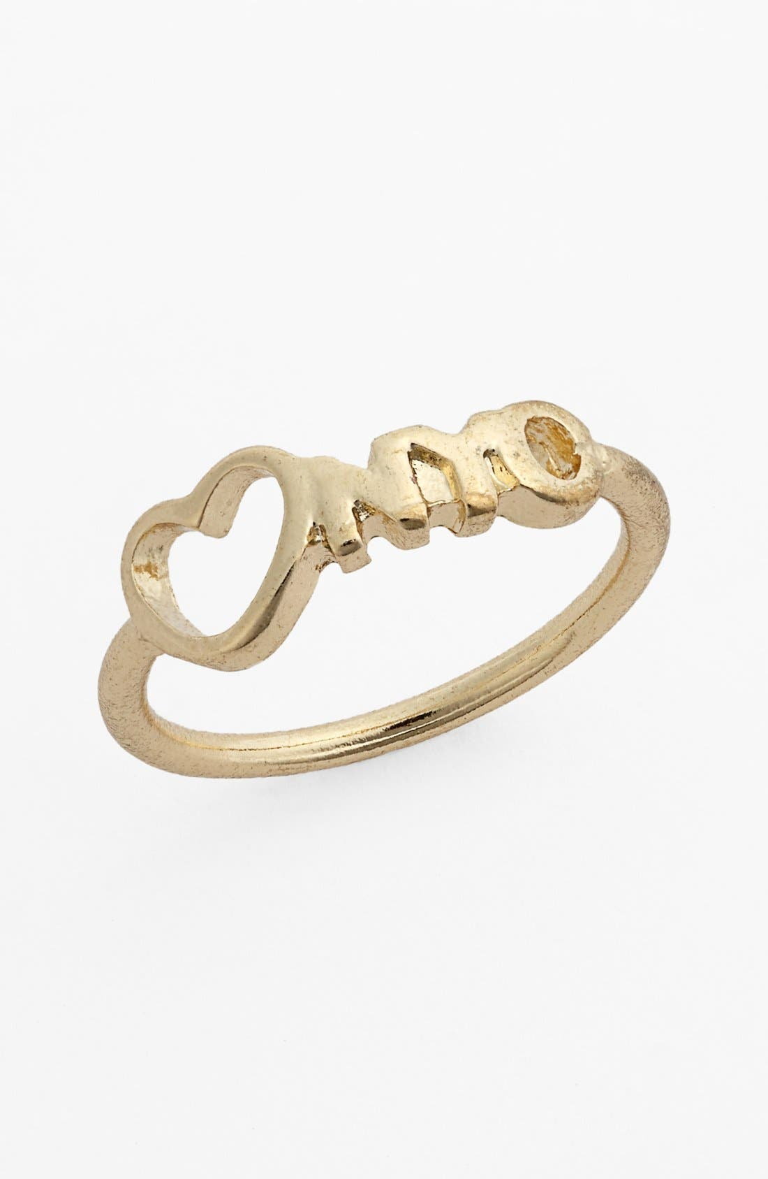 Alternate Image 1 Selected - Carole 'Heart NYC' Ring (Juniors)