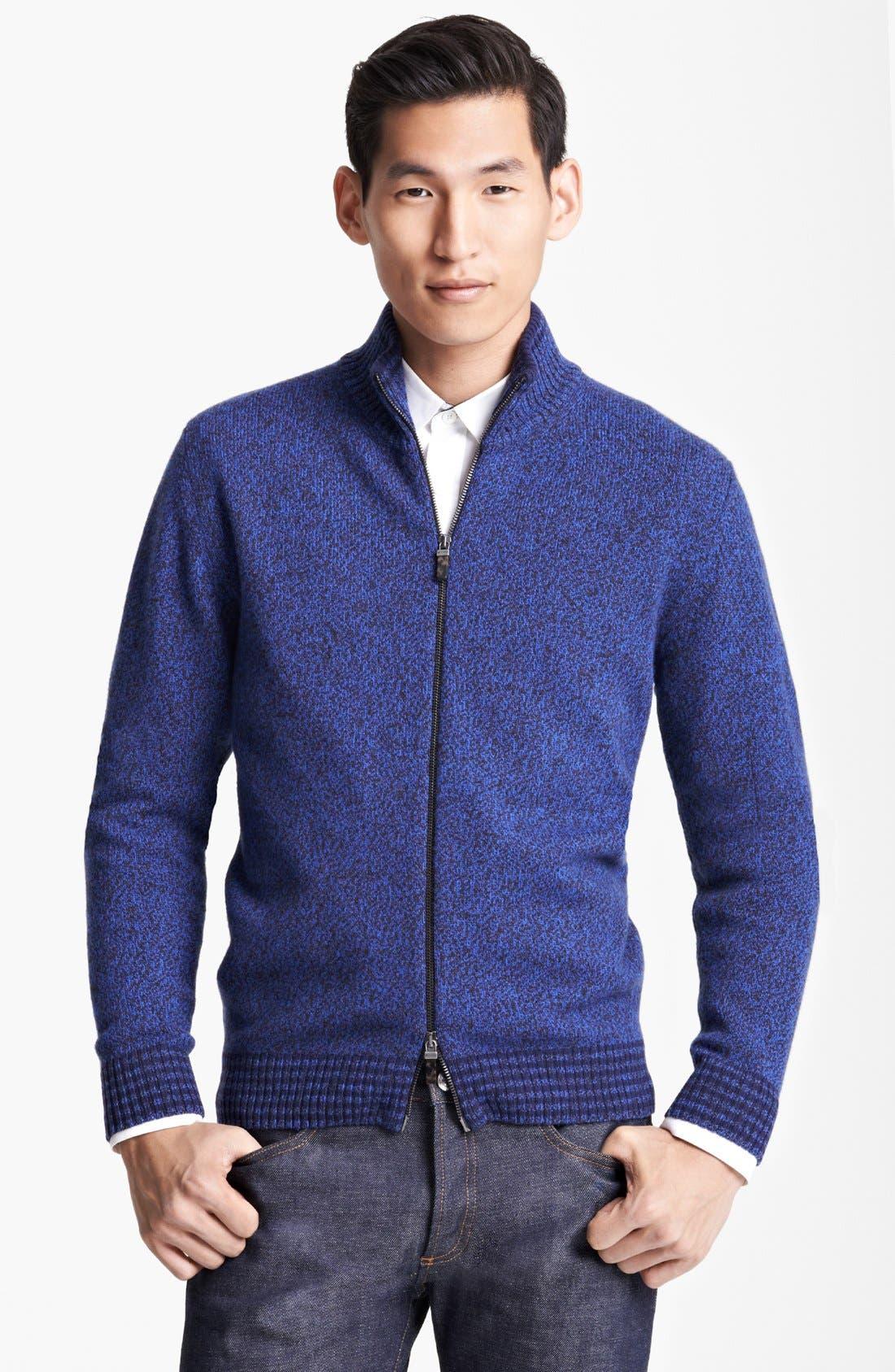 Alternate Image 1 Selected - Etro Wool Zip Sweater
