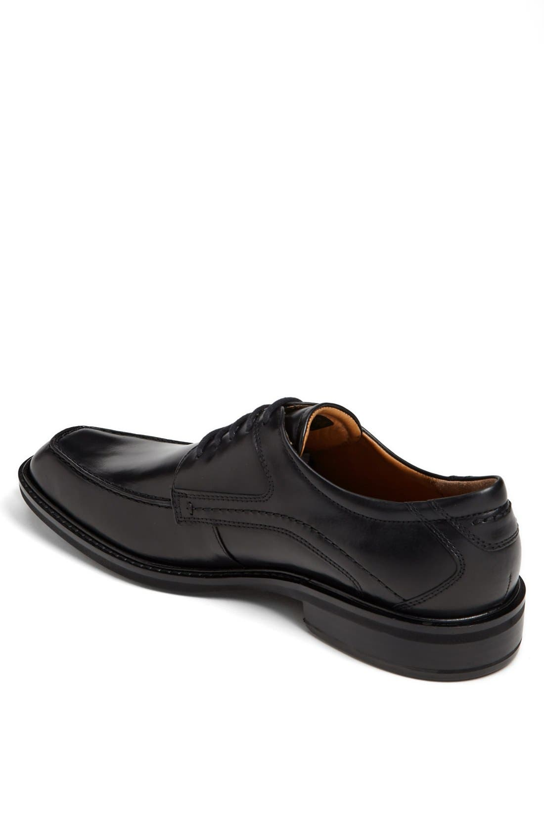 'Windsor' Apron Toe Derby,                             Alternate thumbnail 2, color,                             Black