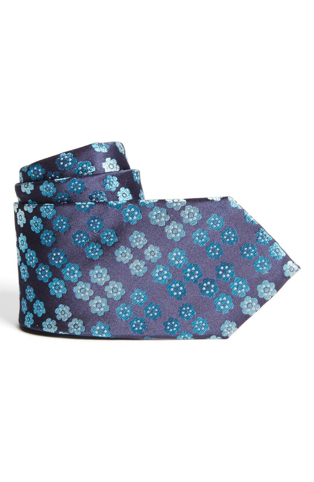 Alternate Image 1 Selected - Joseph Abboud Woven Silk Tie (Boys)