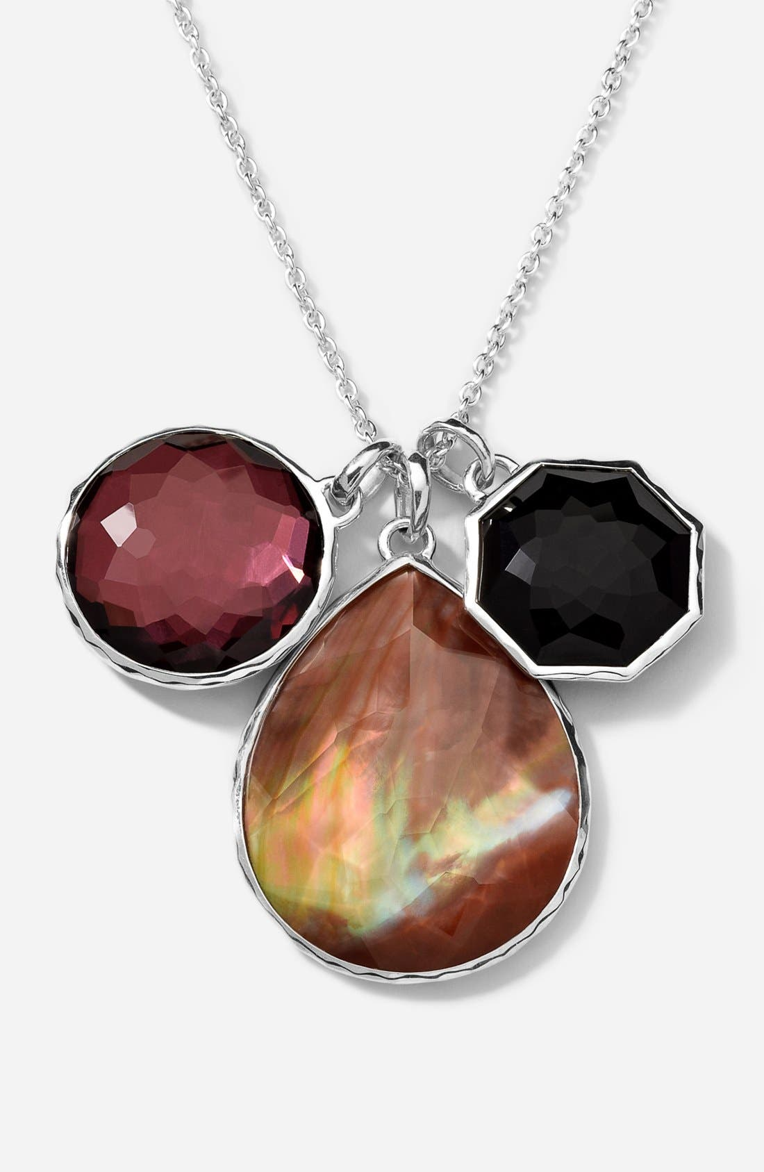 Alternate Image 1 Selected - Ippolita 'Wonderland' Long Triple Charm Necklace (Nordstrom Exclusive)