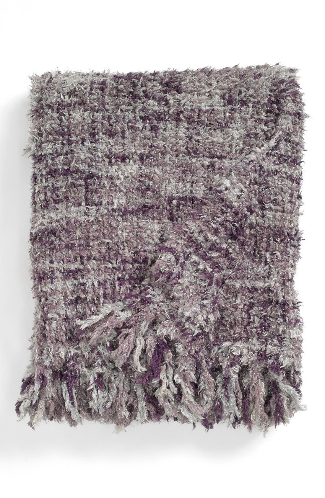 Alternate Image 1 Selected - Spencer N. Home 'Feather Stitch' Throw