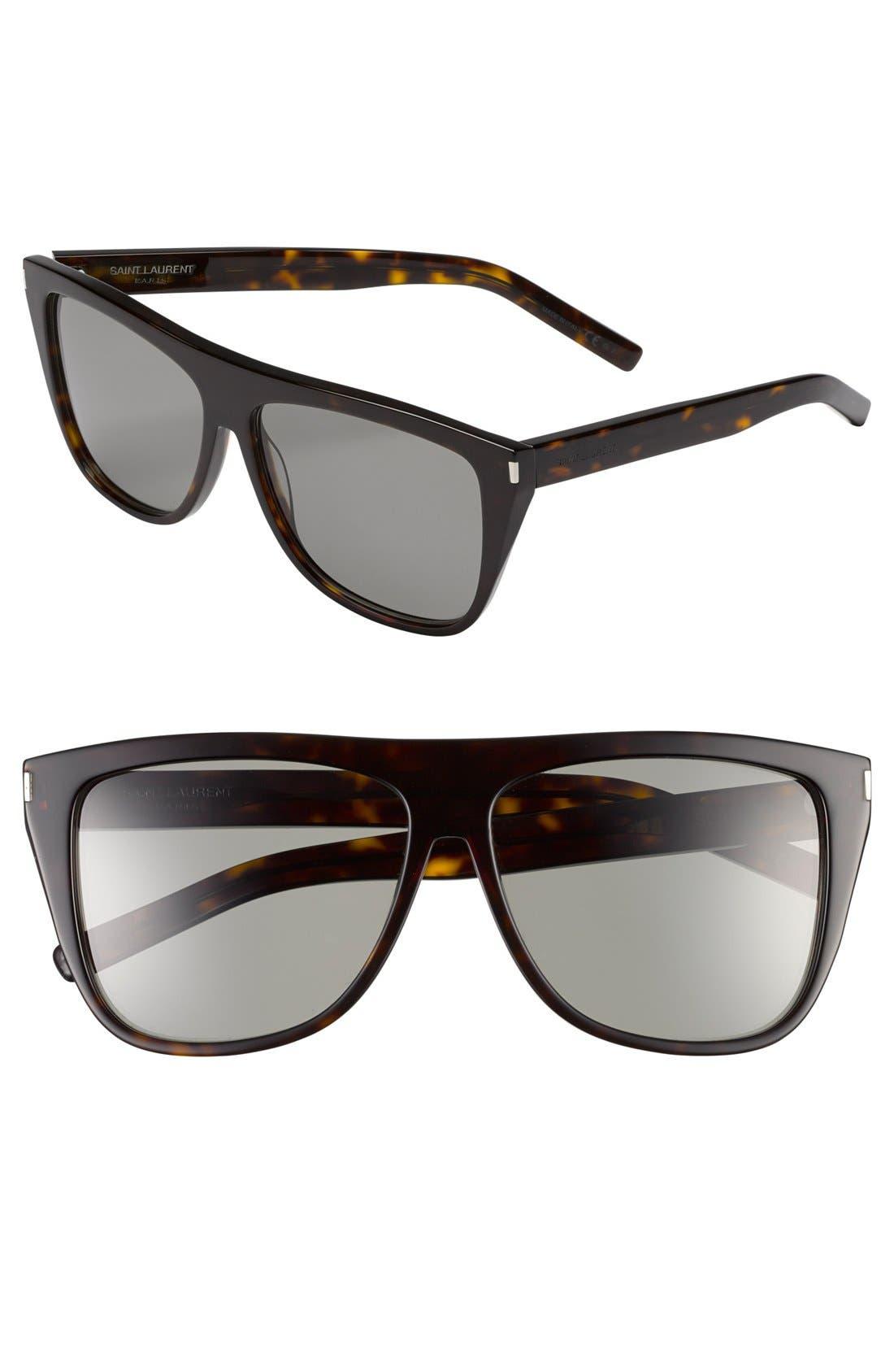 Alternate Image 1 Selected - Saint Laurent 59mm Sunglasses