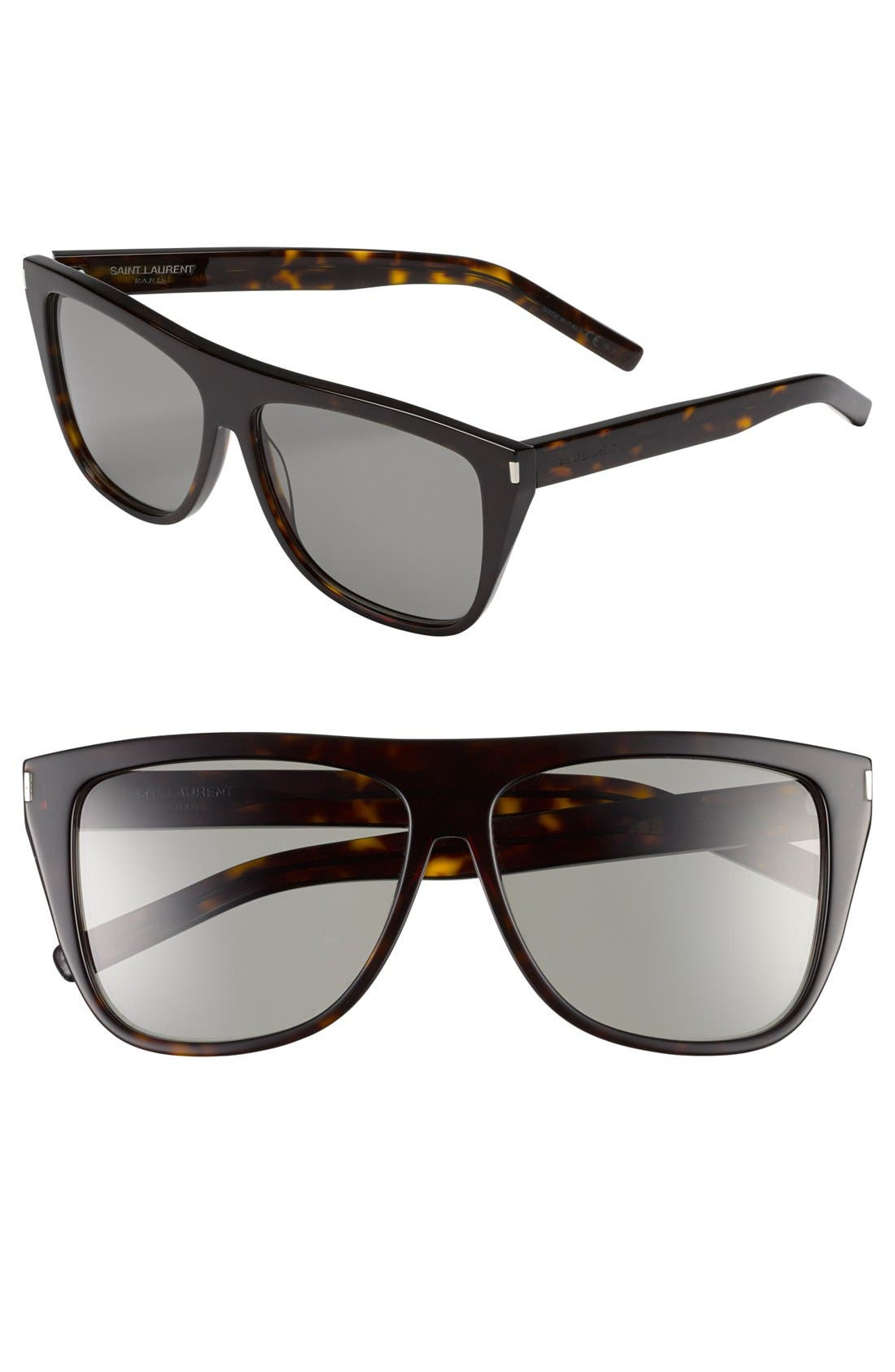 Main Image - Saint Laurent 59mm Sunglasses