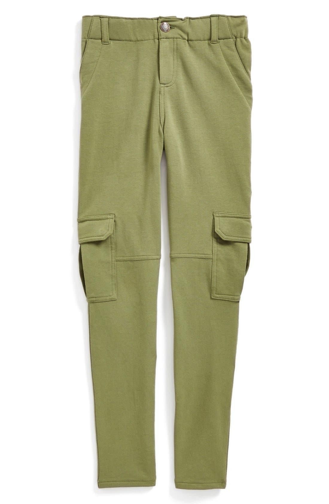 Alternate Image 2  - Tucker + Tate 'Ella' Knit Cargo Pants (Big Girls)