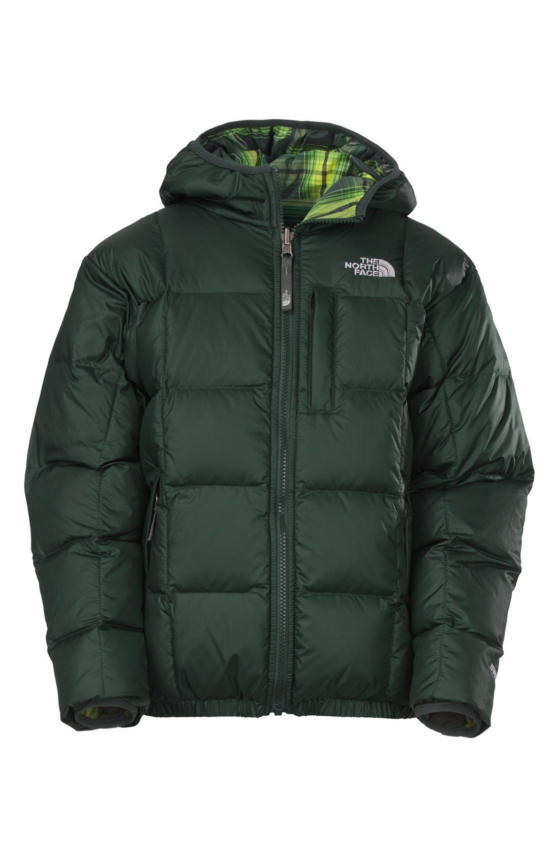 Main Image - The North Face 'Moondoggy' Reversible Down Jacket (Little Boys & Big Boys)