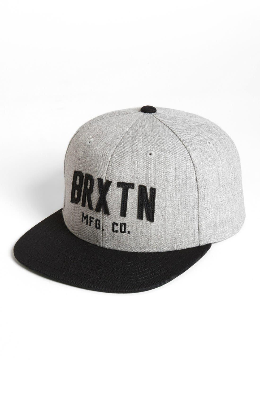 Alternate Image 1 Selected - Brixton 'Arden II' Snapback Baseball Cap