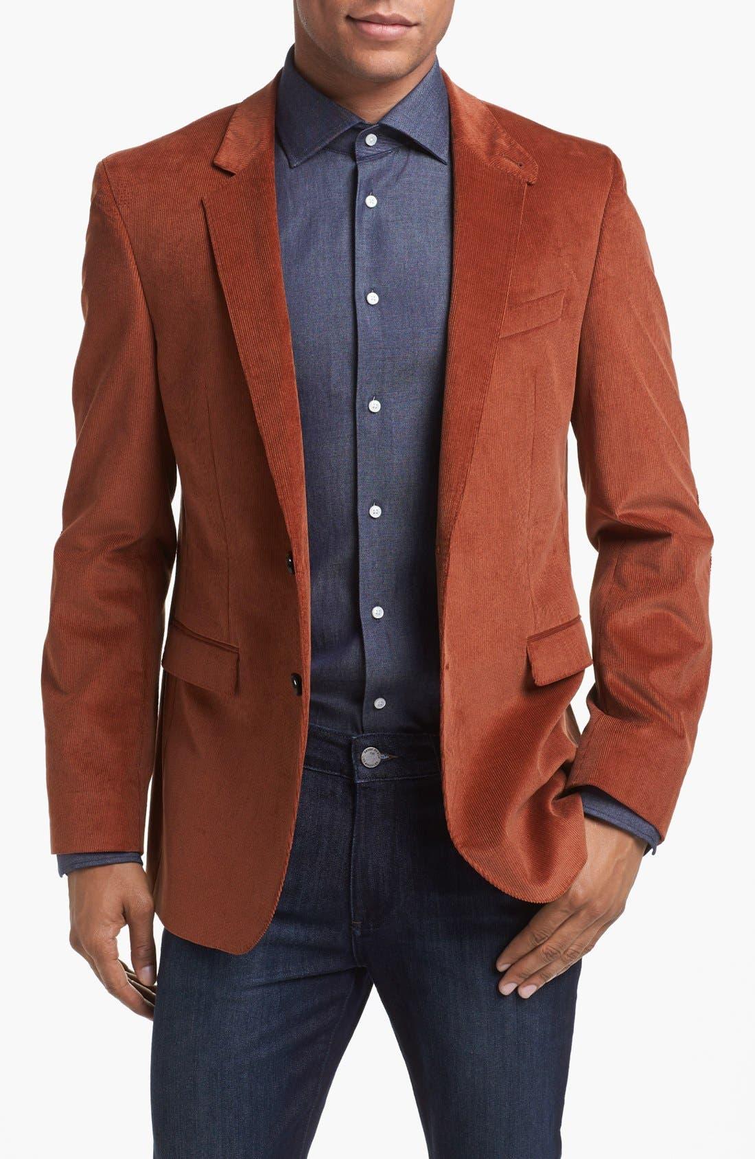 Alternate Image 1 Selected - BOSS HUGO BOSS 'Rhett' Extra Trim Fit Blazer