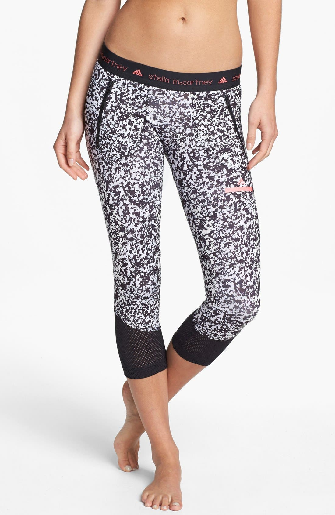 Main Image - adidas by Stella McCartney 'Run' Three Quarter Length Pants