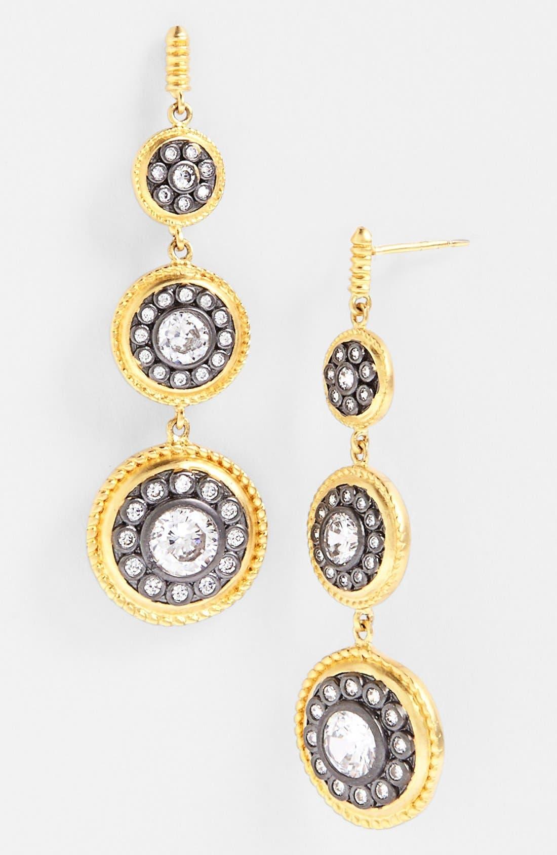 Main Image - FREIDA ROTHMAN 'Hamptons' Nautical Button Drop Earrings