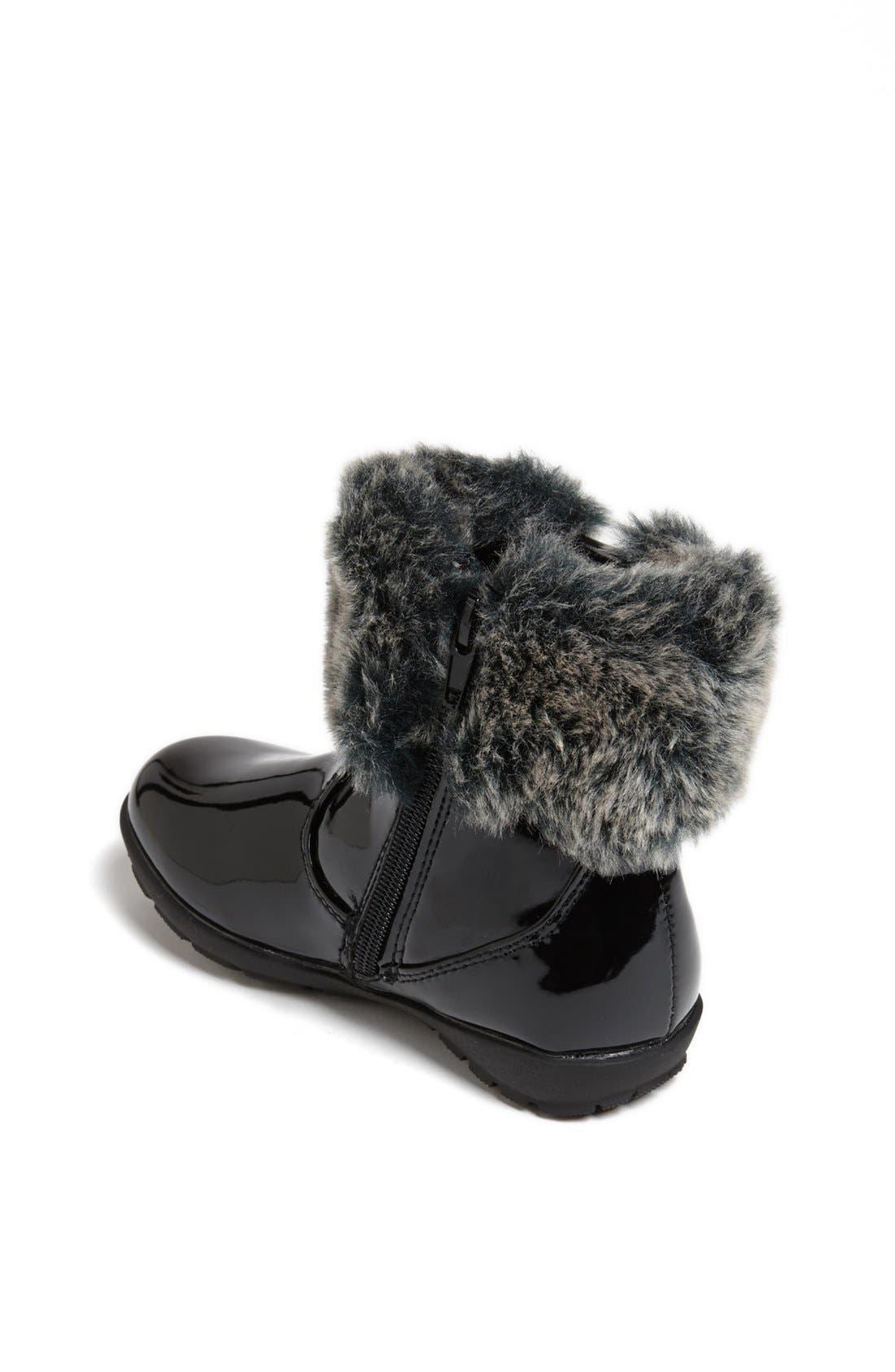 Alternate Image 2  - kensie girl Faux Fur Trim Boot (Walker & Toddler)