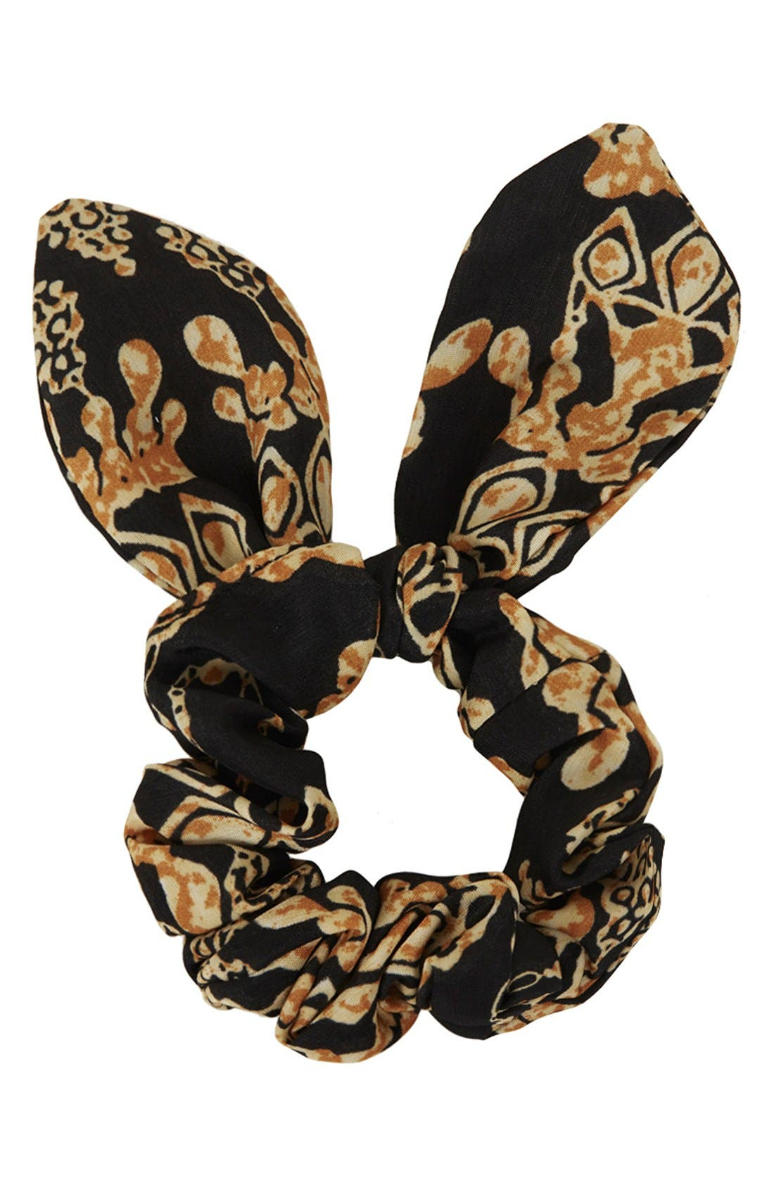 Alternate Image 1 Selected - Topshop 'New Era' Scrunchy