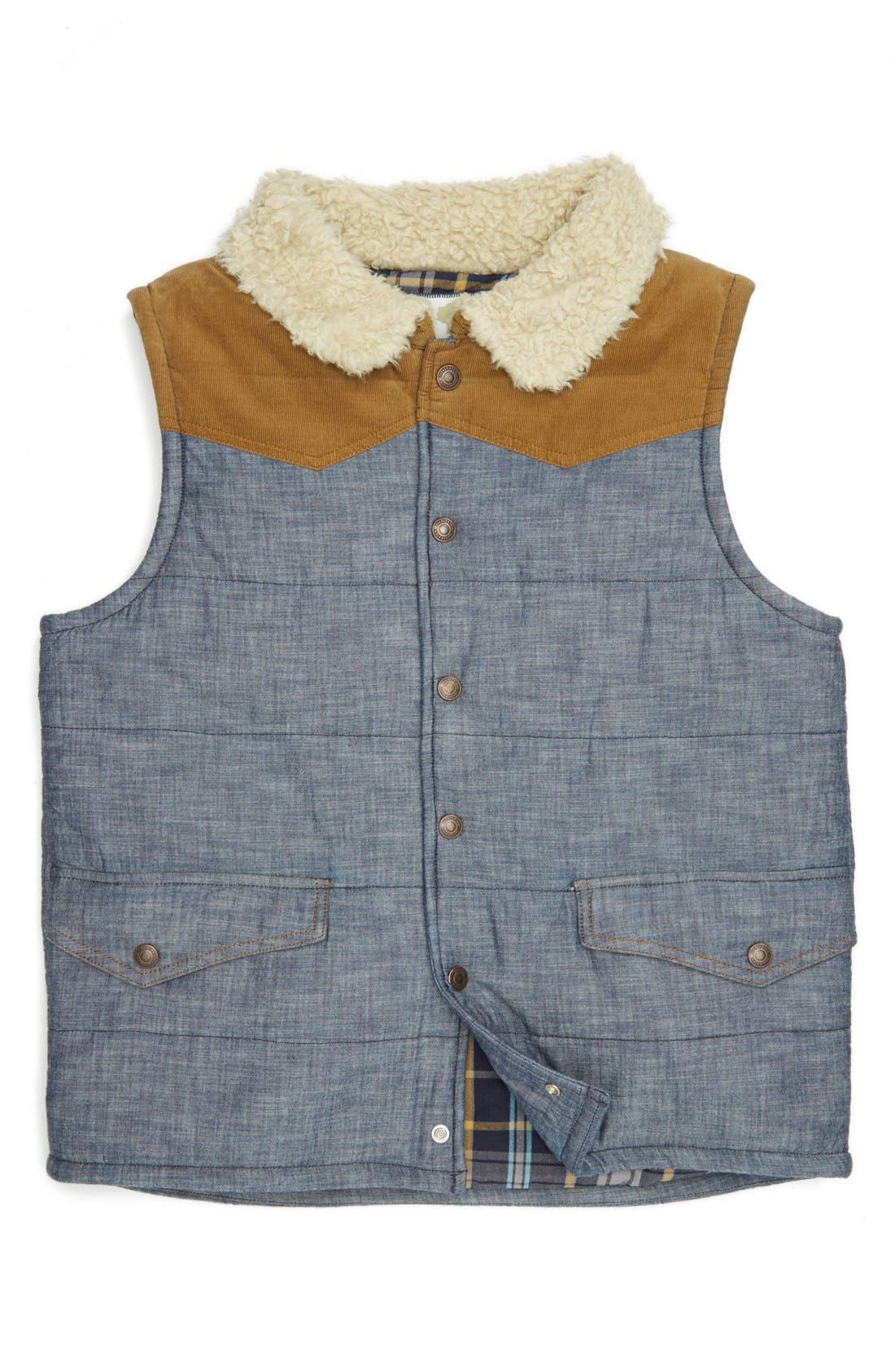 Alternate Image 1 Selected - Tucker + Tate 'Viewridge' Quilted Vest (Big Boys)