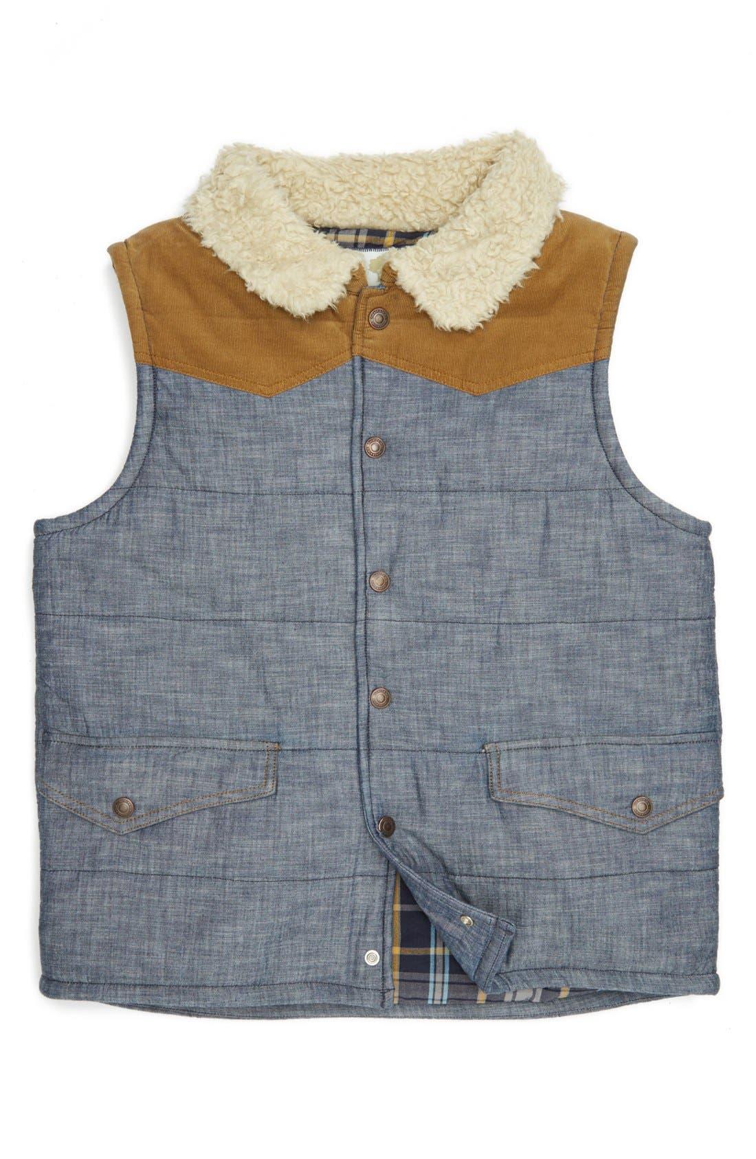 Main Image - Tucker + Tate 'Viewridge' Quilted Vest (Big Boys)