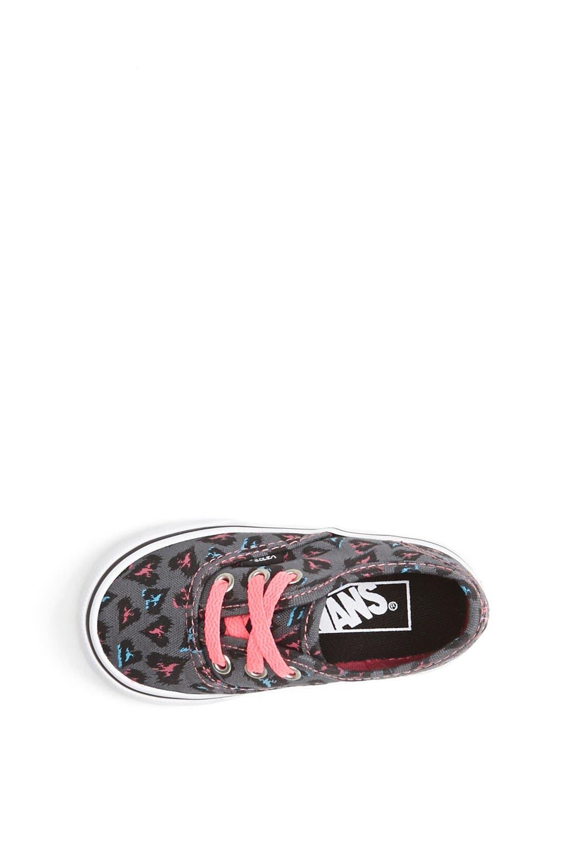 Alternate Image 3  - Vans 'Authentic - Heart Leopard Print' Sneaker (Baby, Walker & Toddler)