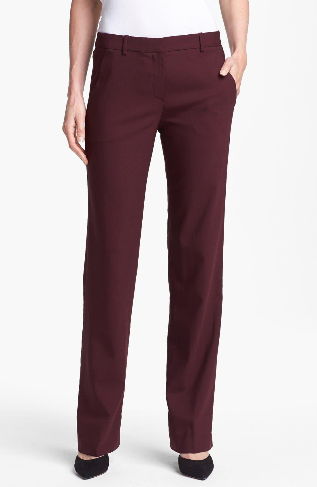 Main Image - Theory 'Avano' Stretch Wool Pants