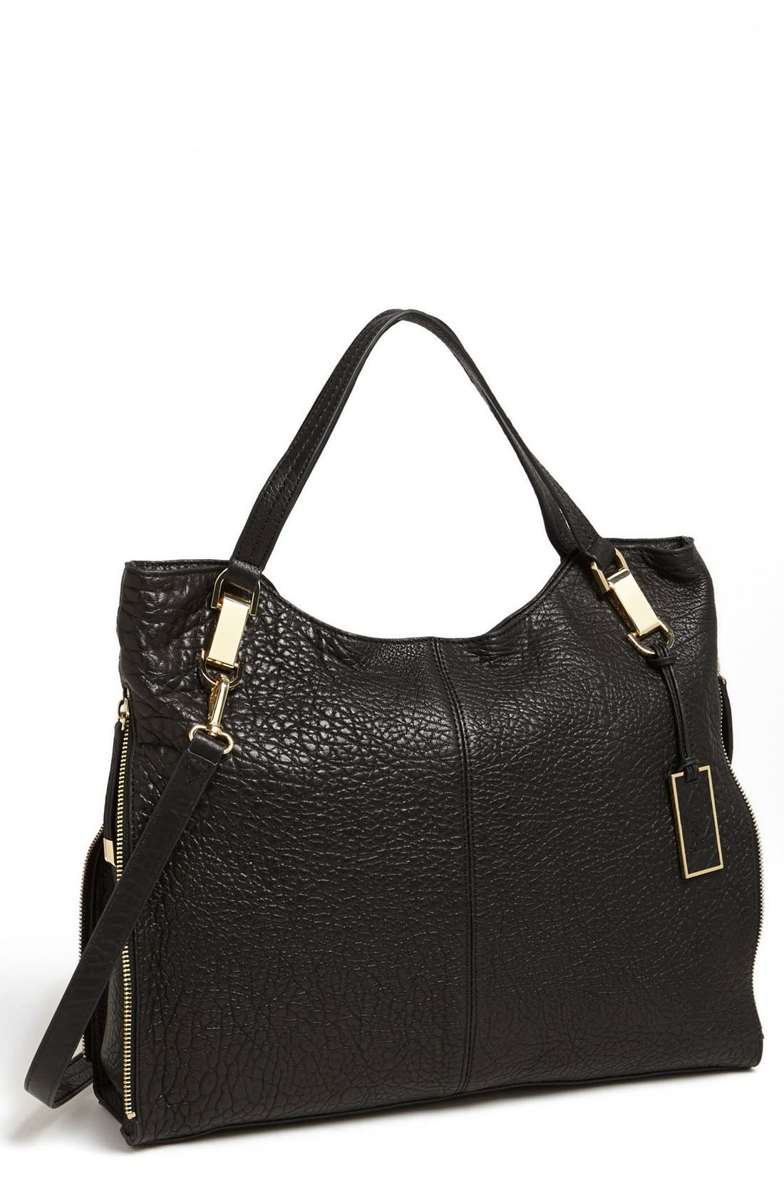 Alternate Image 1 Selected - Vince Camuto 'Riley' Leather Tote