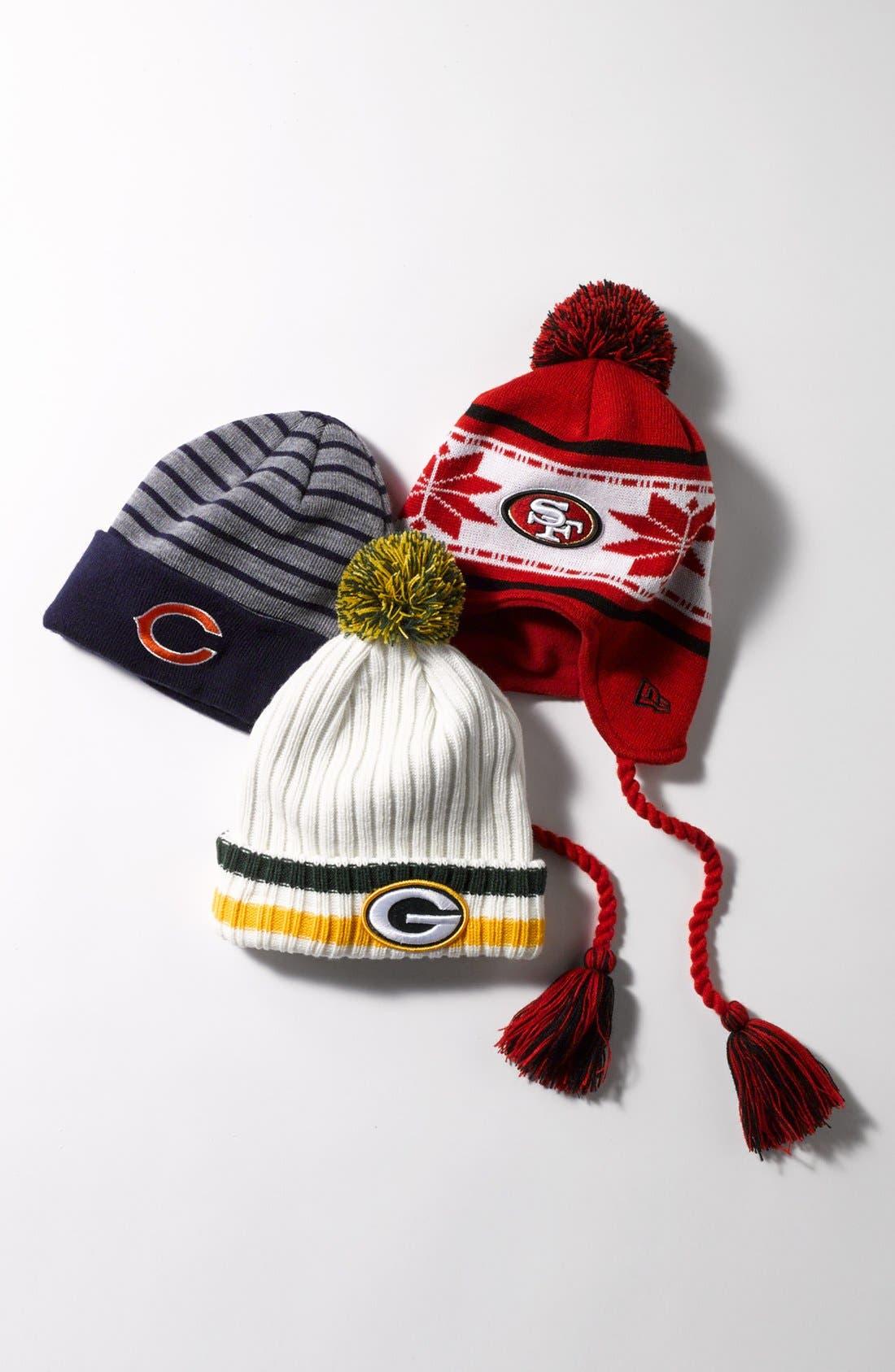 Alternate Image 2  - New Era Cap 'San Francisco 49ers' Snowflake Tassel Hat