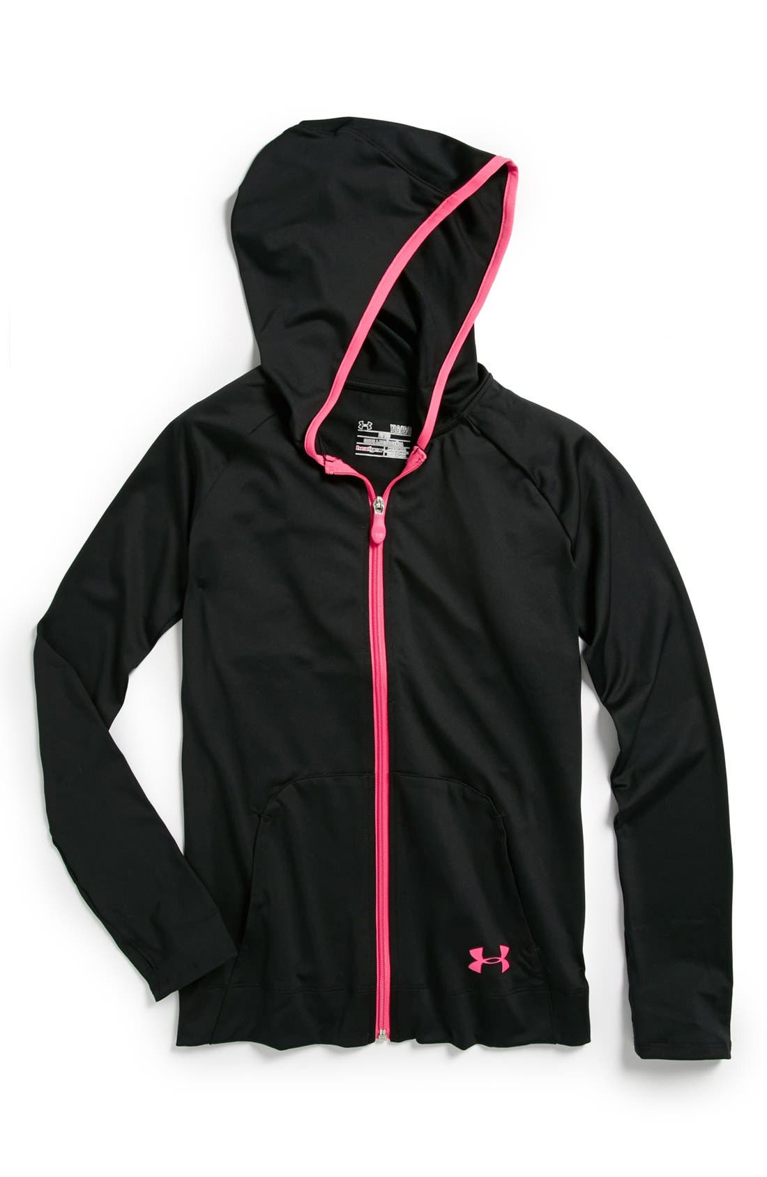 Alternate Image 1 Selected - Under Armour 'Victory' Jacket (Big Girls)