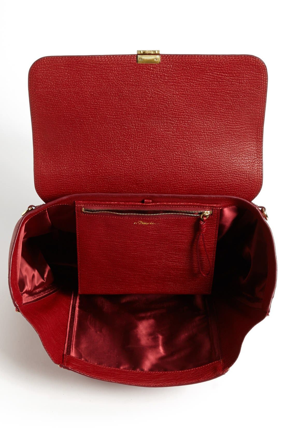 Alternate Image 4  - 3.1 Phillip Lim 'Pashli' Shark Embossed Leather Satchel