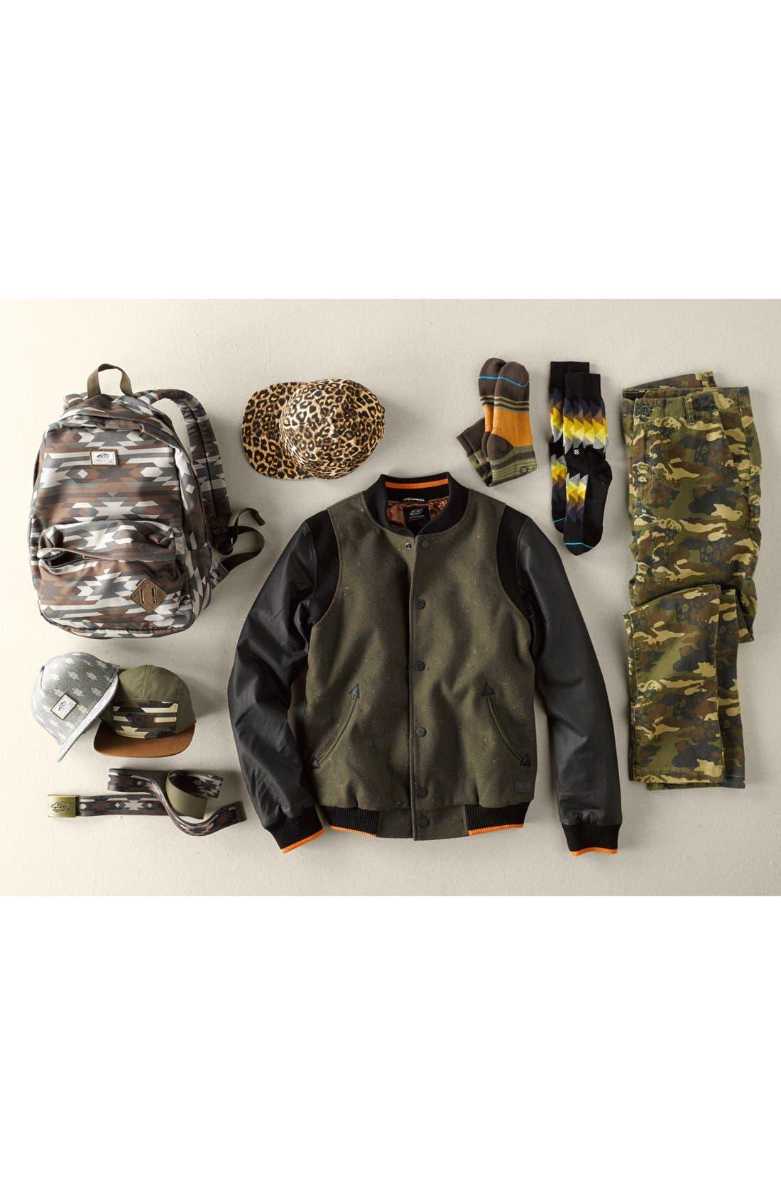 Alternate Image 5  - 55DSL 'Jomstone' Varsity Jacket